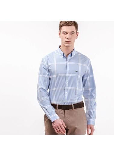 Çizgili Uzun Kollu Gömlek-Lacoste